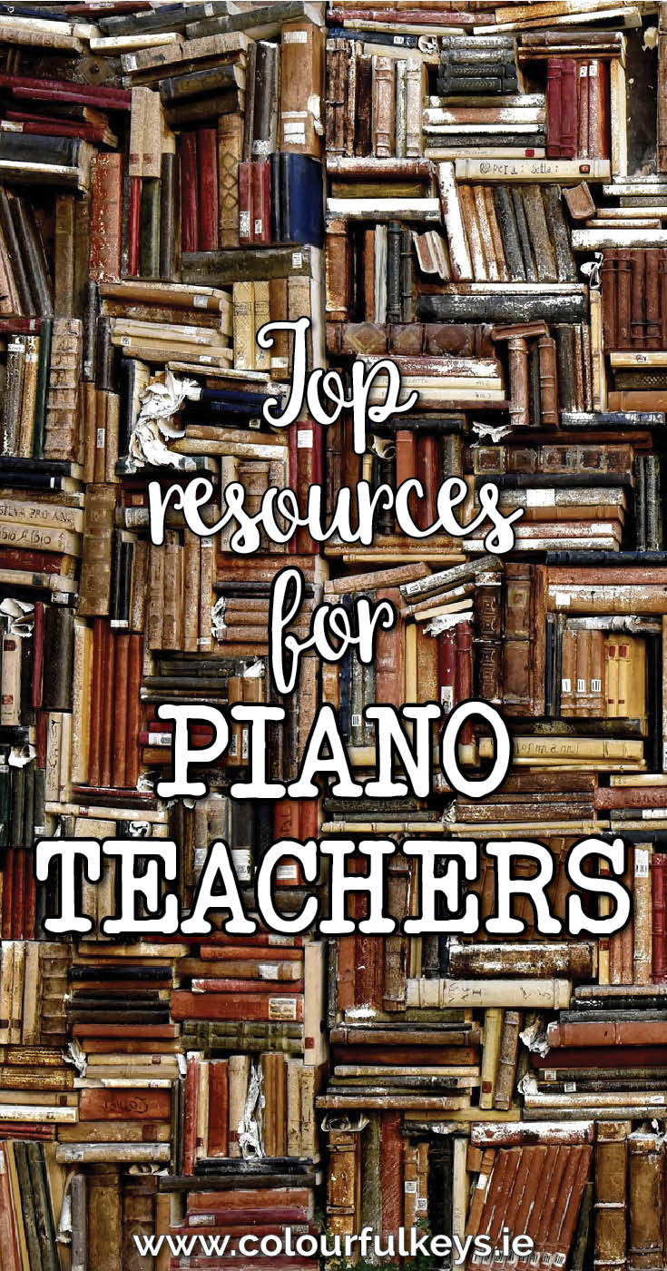 Top resources for piano teachers - books, tools and more!