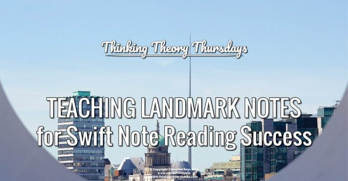 How to teach the landmark notes