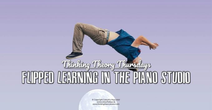 Flipped learning in the piano studio