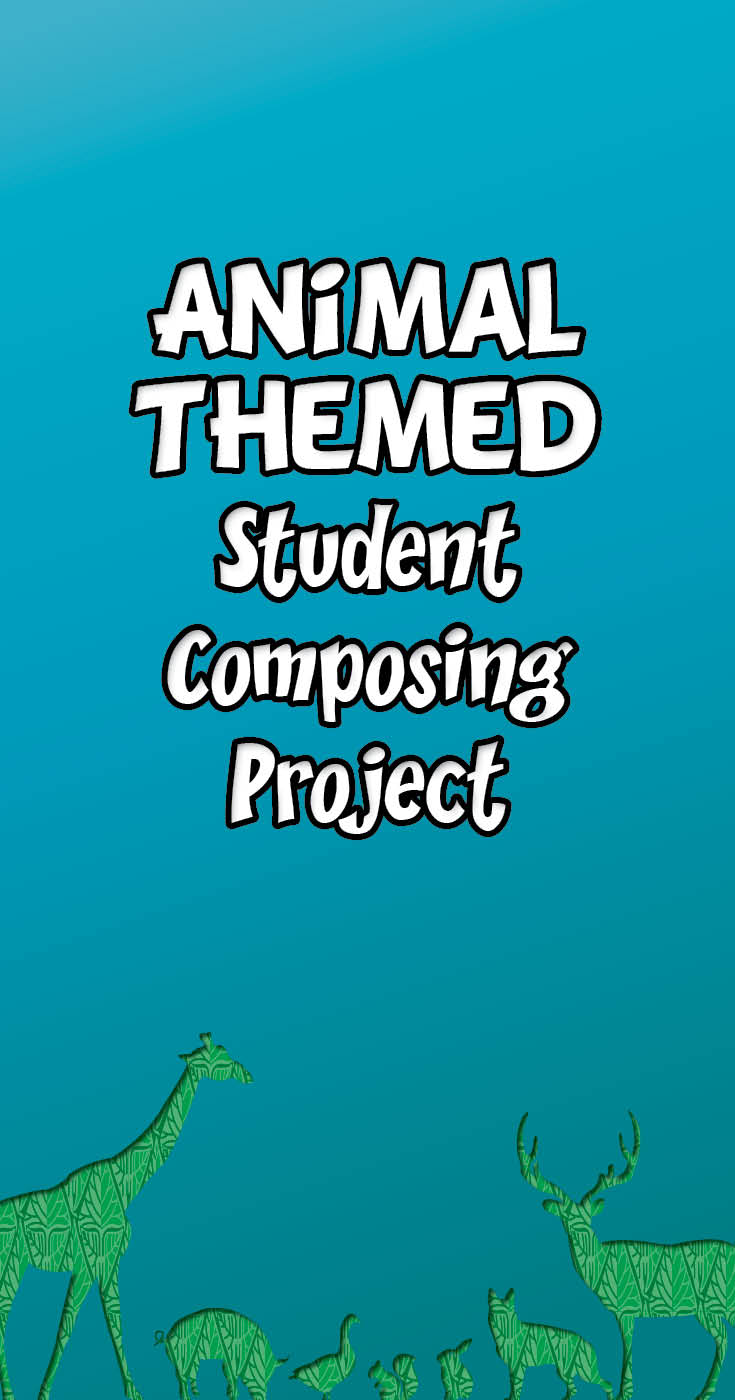 Animal menagerie composing project for piano students