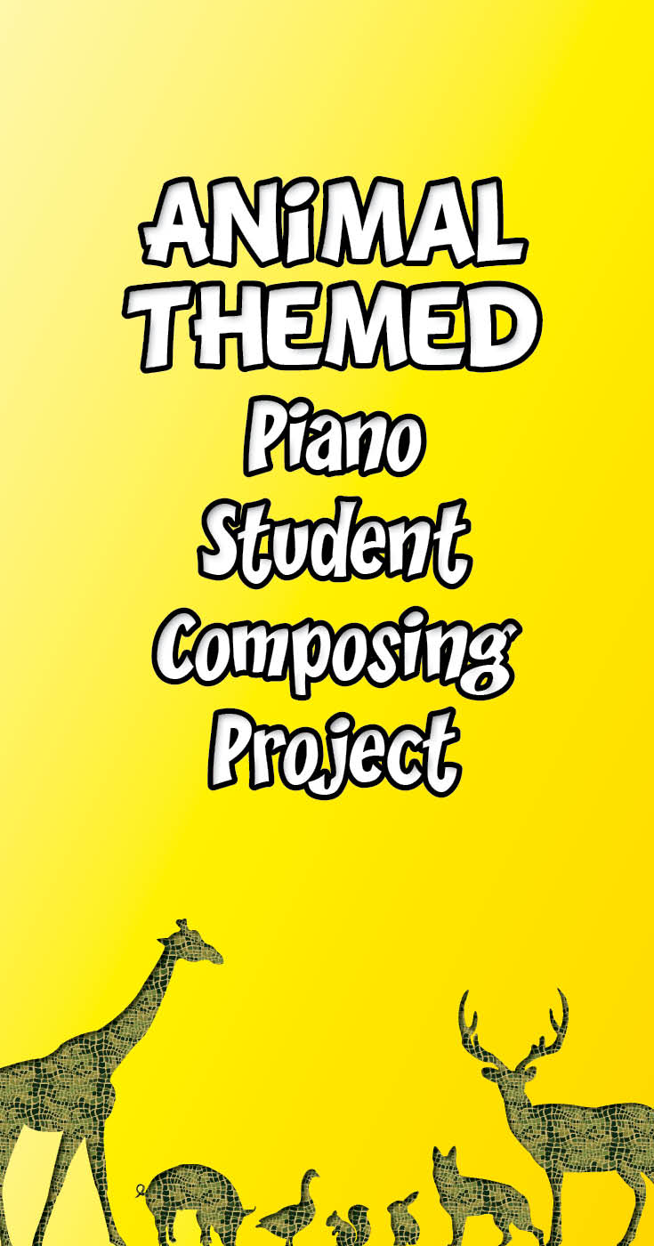 Animal menagerie composing project for music students