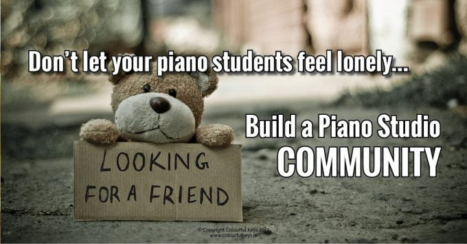 how to build piano studio community2