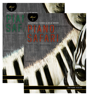 Piano Safari Pattern Pieces