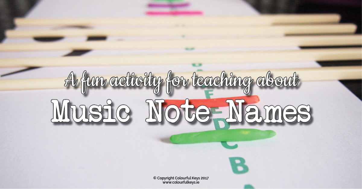 How to teach piano students about the ledger lines