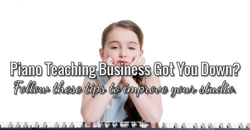 Get smarter with your piano studio business