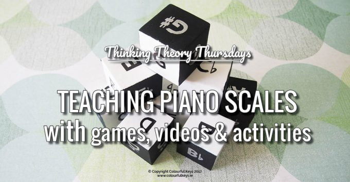 The Most Fun You'll Ever Have Teaching Piano Scales