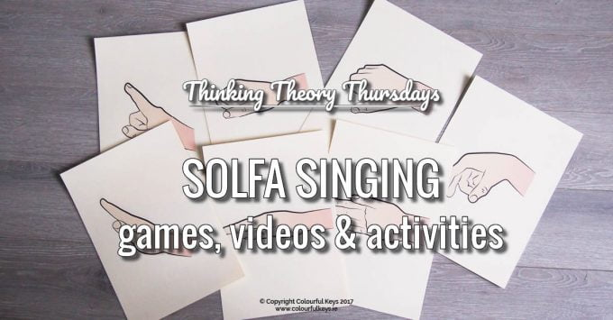 Singing Games with the Full Solfa Scale
