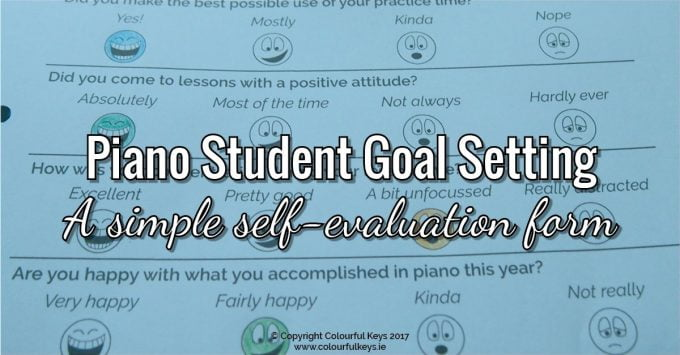 Skyrocket Student Retention with this Simple Goal Setting and Self-Evaluation Form