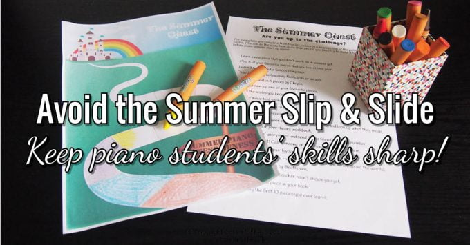 Free Summer Practice Incentive to Avoid the Summer Slip & Slide