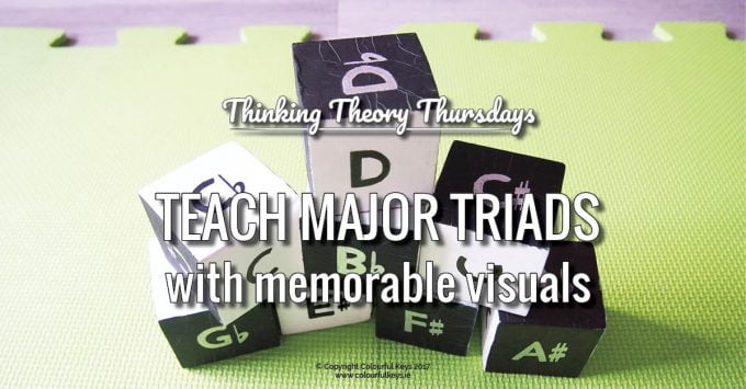 Teaching Major Triads with Two Fantastic Visual Tools