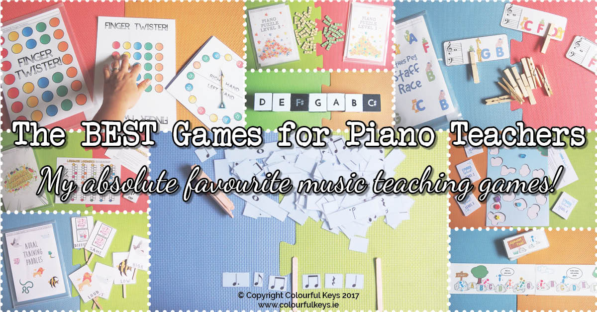 best free piano teaching games