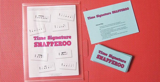 Intermediate music theory game