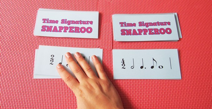 Teaching Intermediate Time Signatures with the SNAPPEROO