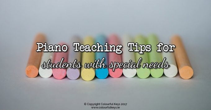 What You Need to Know to Teach Piano Students with Special Needs