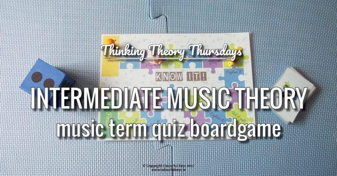 A Wonderfully Addictive Intermediate Music Theory Game