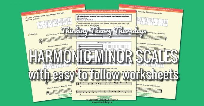 How to Explain Harmonic Minor Scales to Piano Students