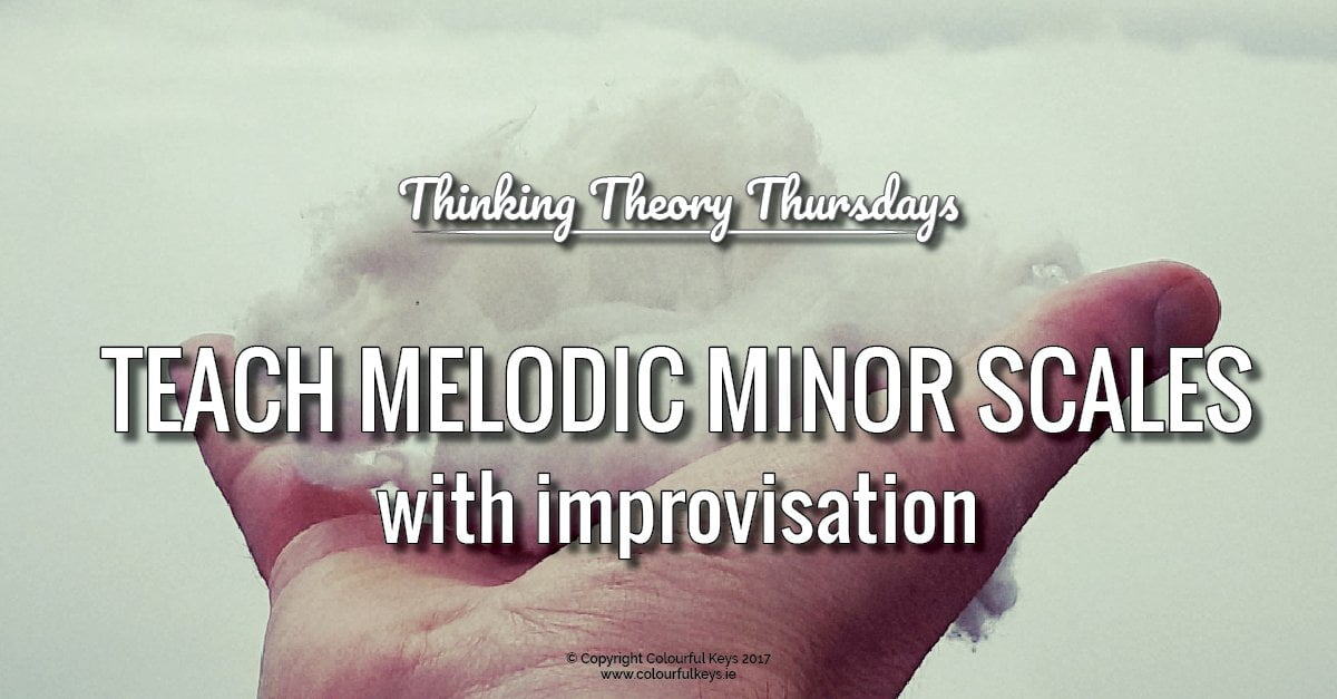 Using improvisation to teach the melodic minor scales