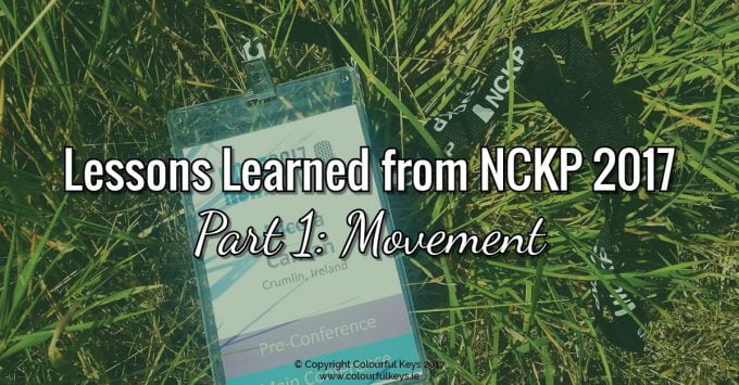 Lessons Learned from NCKP 2017 Part 1: Movement