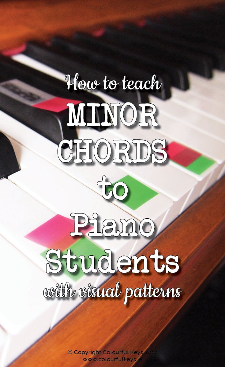 Minor chords to piano student with powerful patterning activities teach minor chords to piano student with powerful patterning activities hexwebz Images