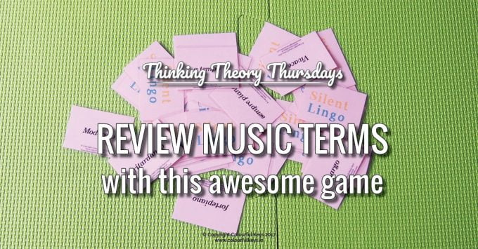 A Marvellous Game for Teaching Musical Terms