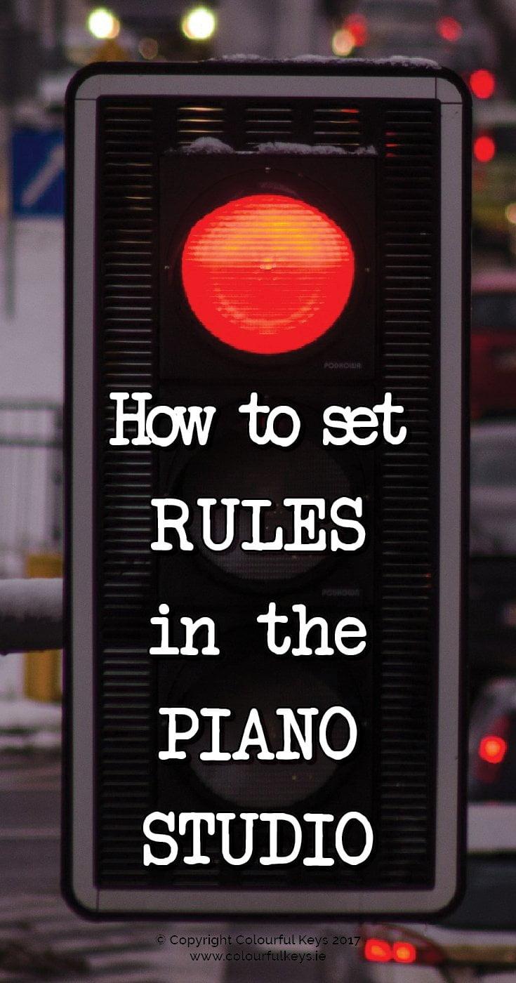 6 strategies for managing piano student behaviour