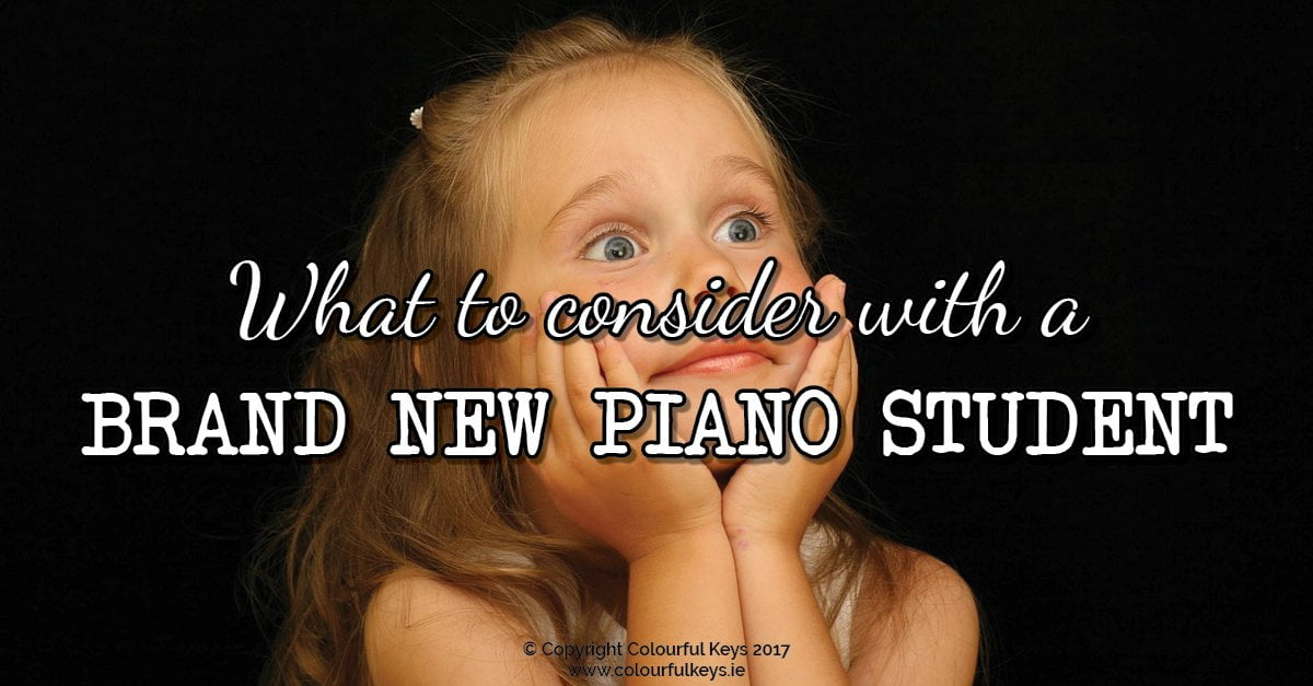 Piano student newbies – what you need to know
