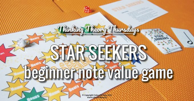 Superb Beginner Note Value Teaching with Star Seekers