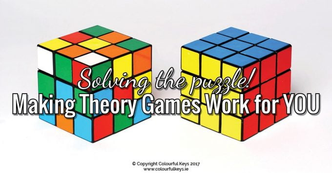 Making music theory games work in the private music studio