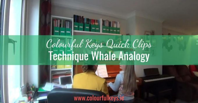 CKQC001: Using a whale analogy to fix piano technique