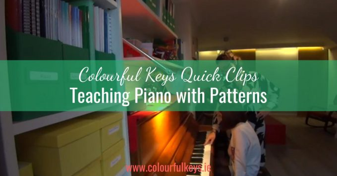 CKQC004: Teaching piano by rote and pattern