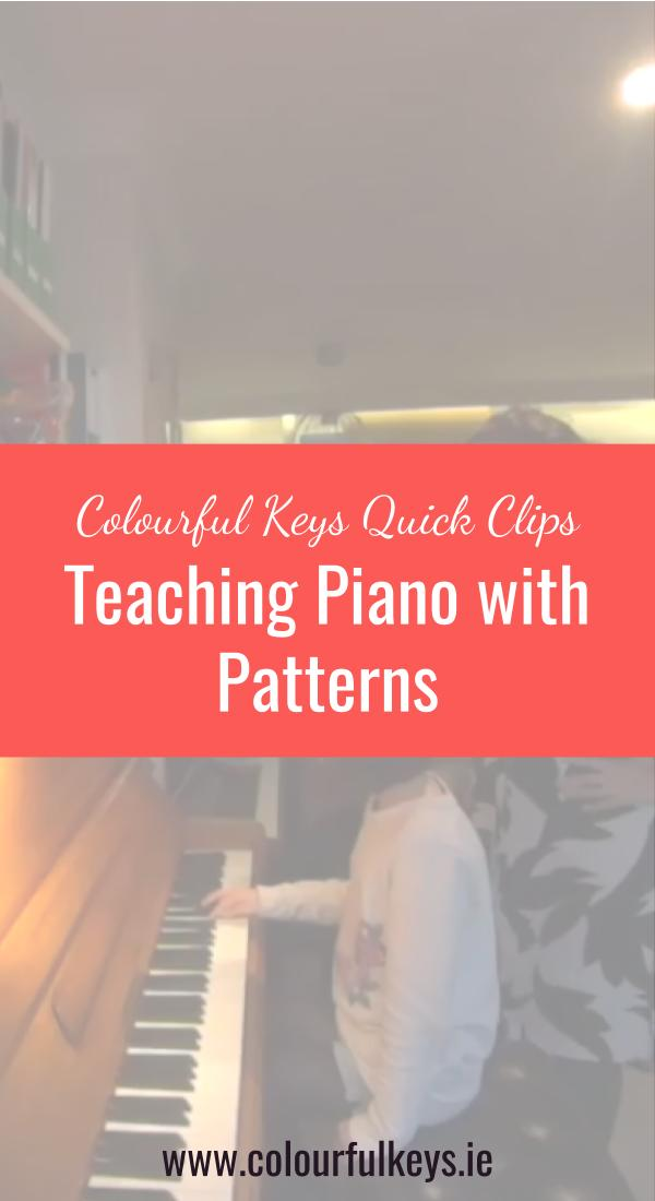 CKQC004_ Teaching piano by rote and pattern Pinterest 2