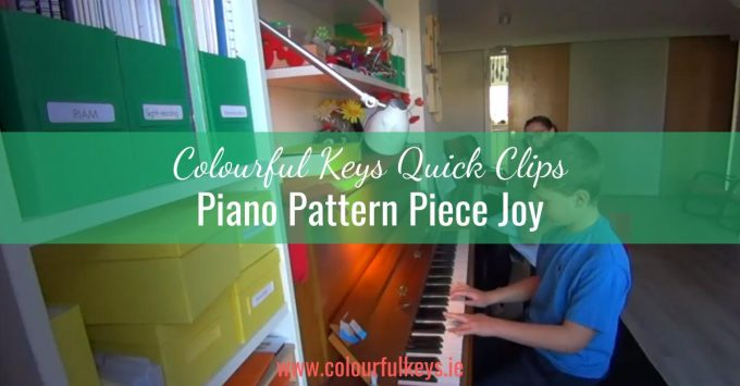 CKQC005: The sheer joy of piano pattern pieces