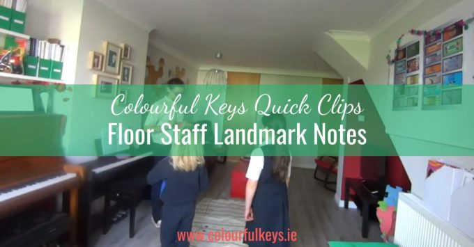 CKQC006: The clefs and first landmark notes on the floor staff