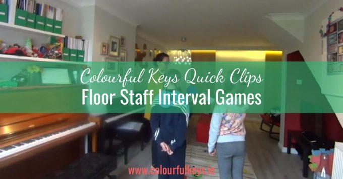 CKQC007: Teaching intervals on the floor staff