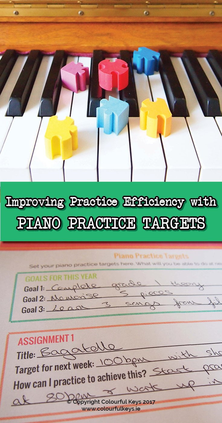 How to Make Students Accountable with Piano Practice Targets
