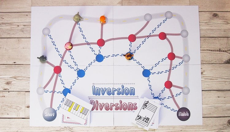Inversion diversions music theory game