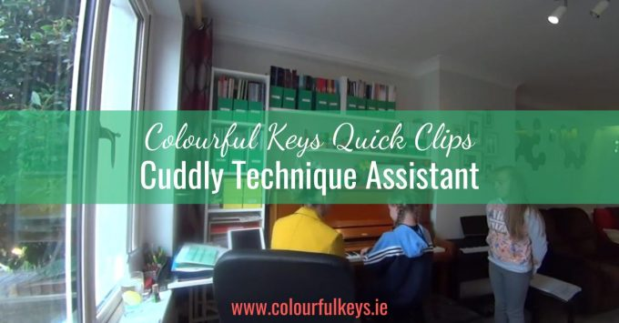 CKQC008: Employing a Cuddly Piano Technique Assistant