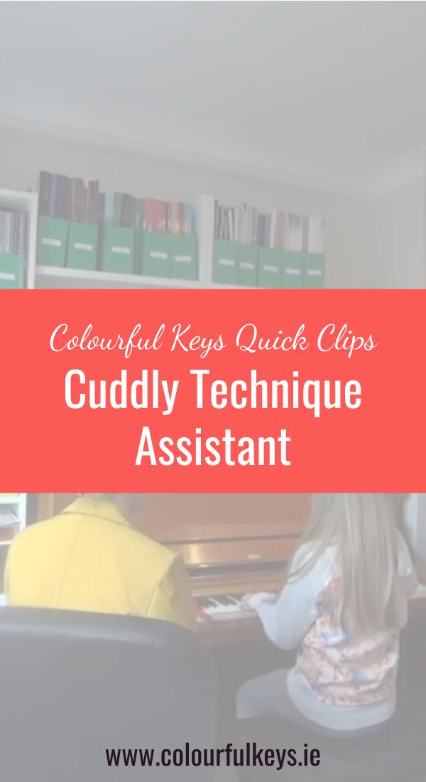 CKQC008- Employing a Cuddly Piano Technique Assistant Pinterest 2