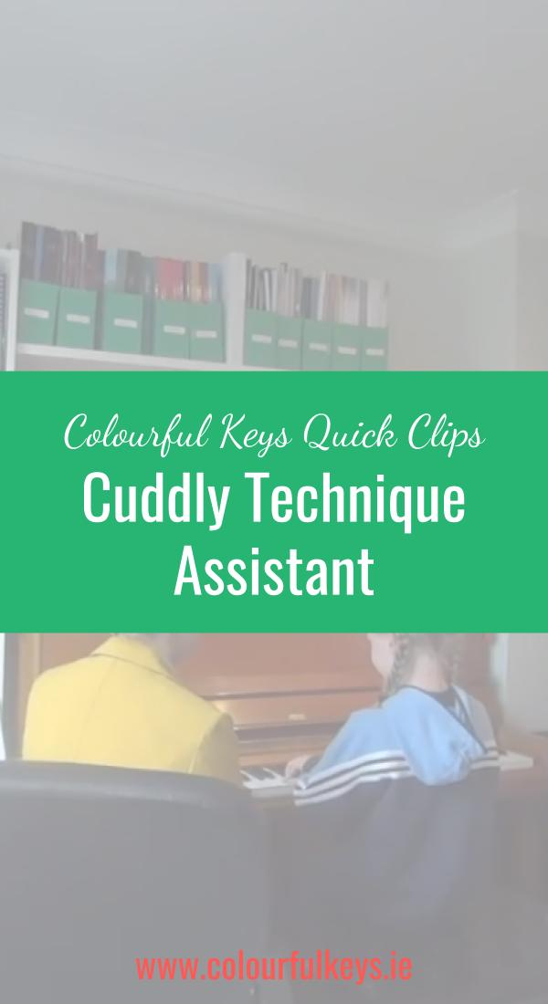 CKQC008- Employing a Cuddly Piano Technique Assistant Pinterest
