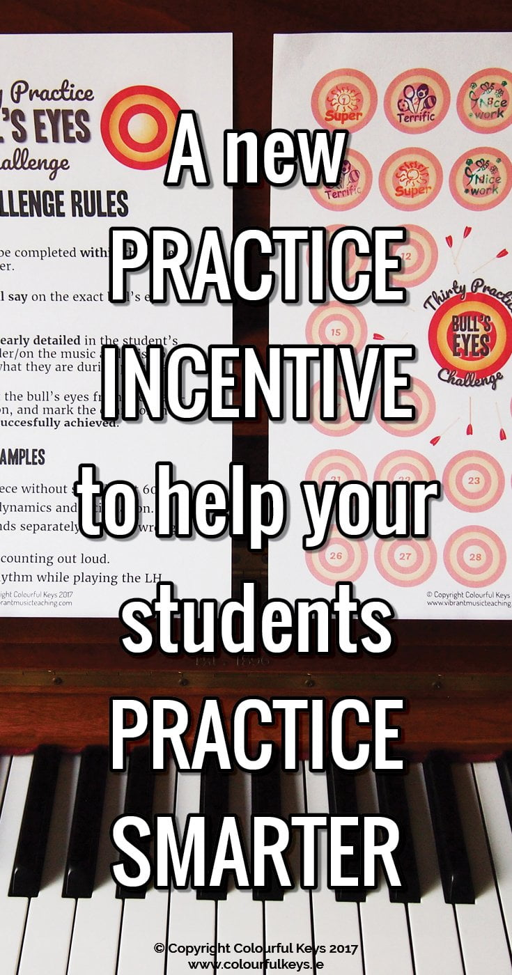 Are your students unfocussed during their practice time? This will help.