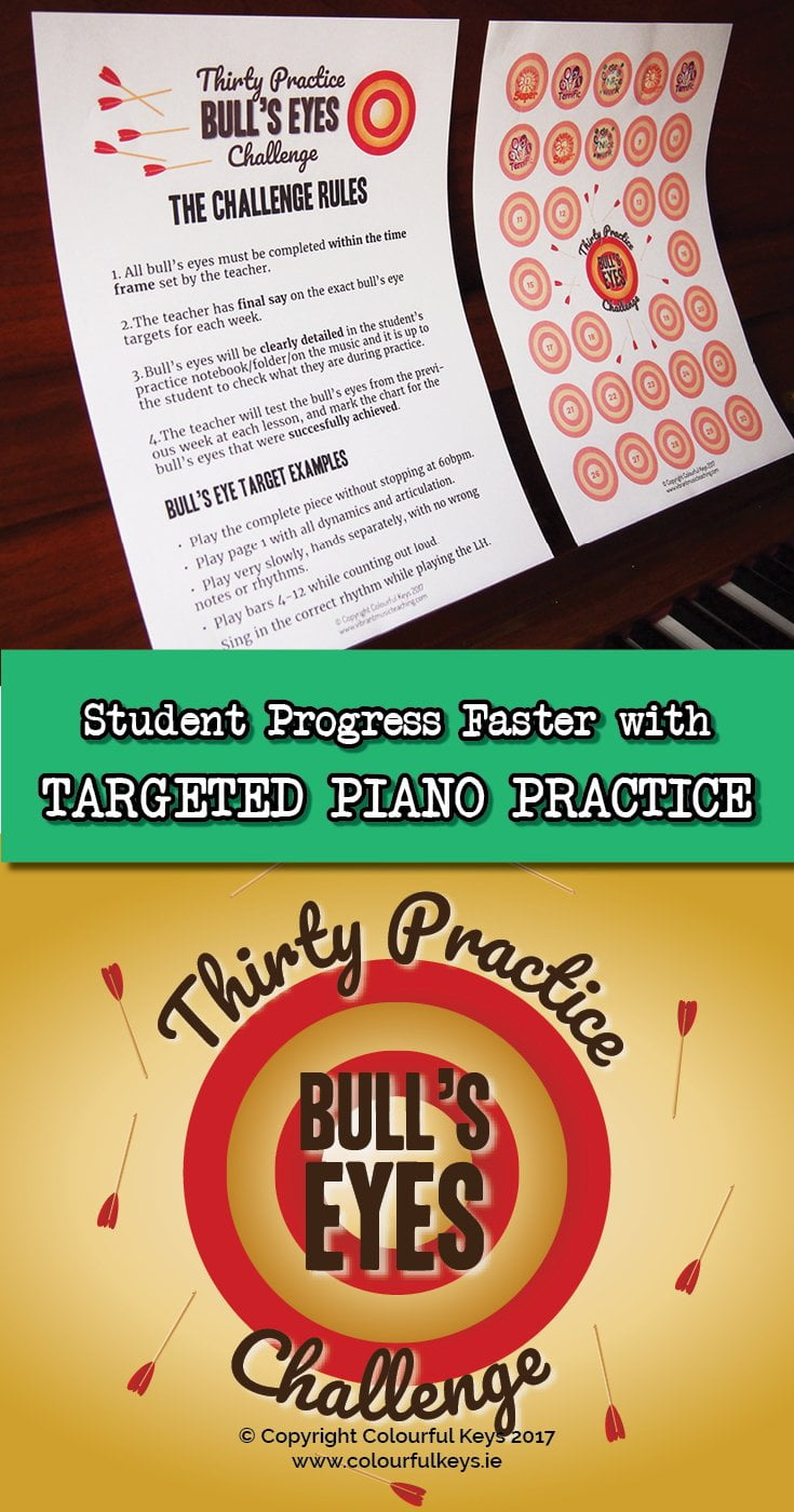 The most targeted piano practice incentive you can find. Completely FREE.