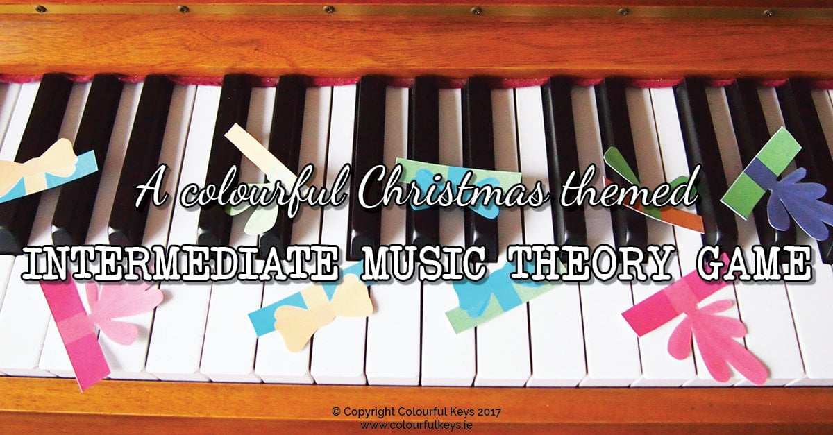 Gift Grab: A Festive Fun Game for Intermediate Piano