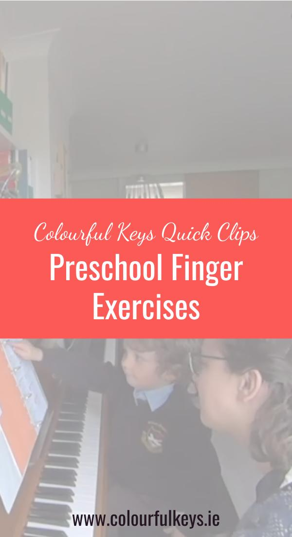 CKQC009- Developing finger dexterity with piano preschoolers Pinterest 2