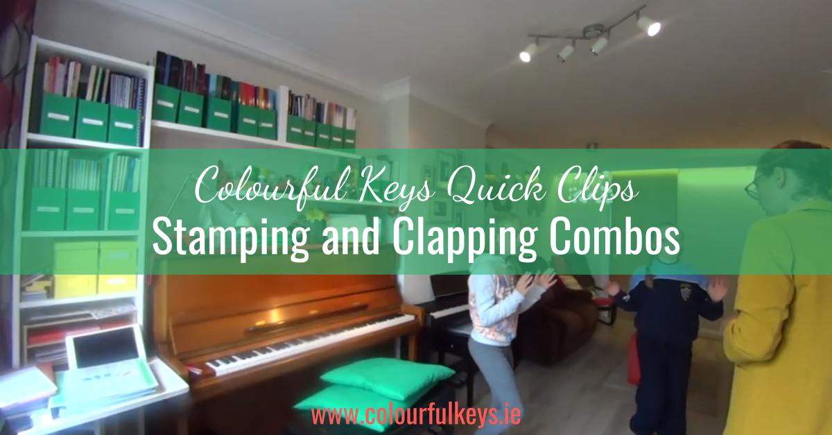 CKQC010- Dividing beats with stamping and clapping