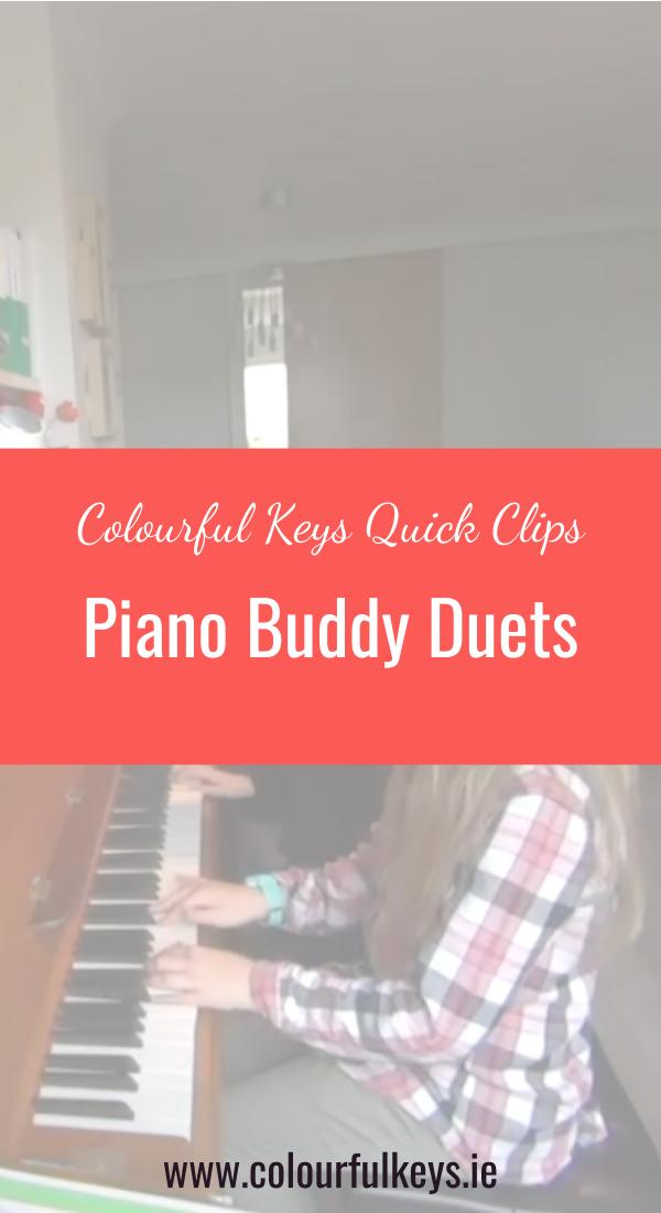 CKQC011- Playing duets to work on listening skills Pinterest 2