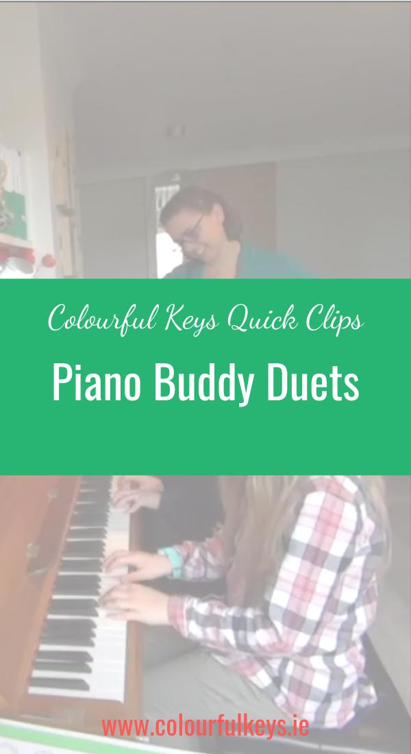 CKQC011- Playing duets to work on listening skills Pinterest