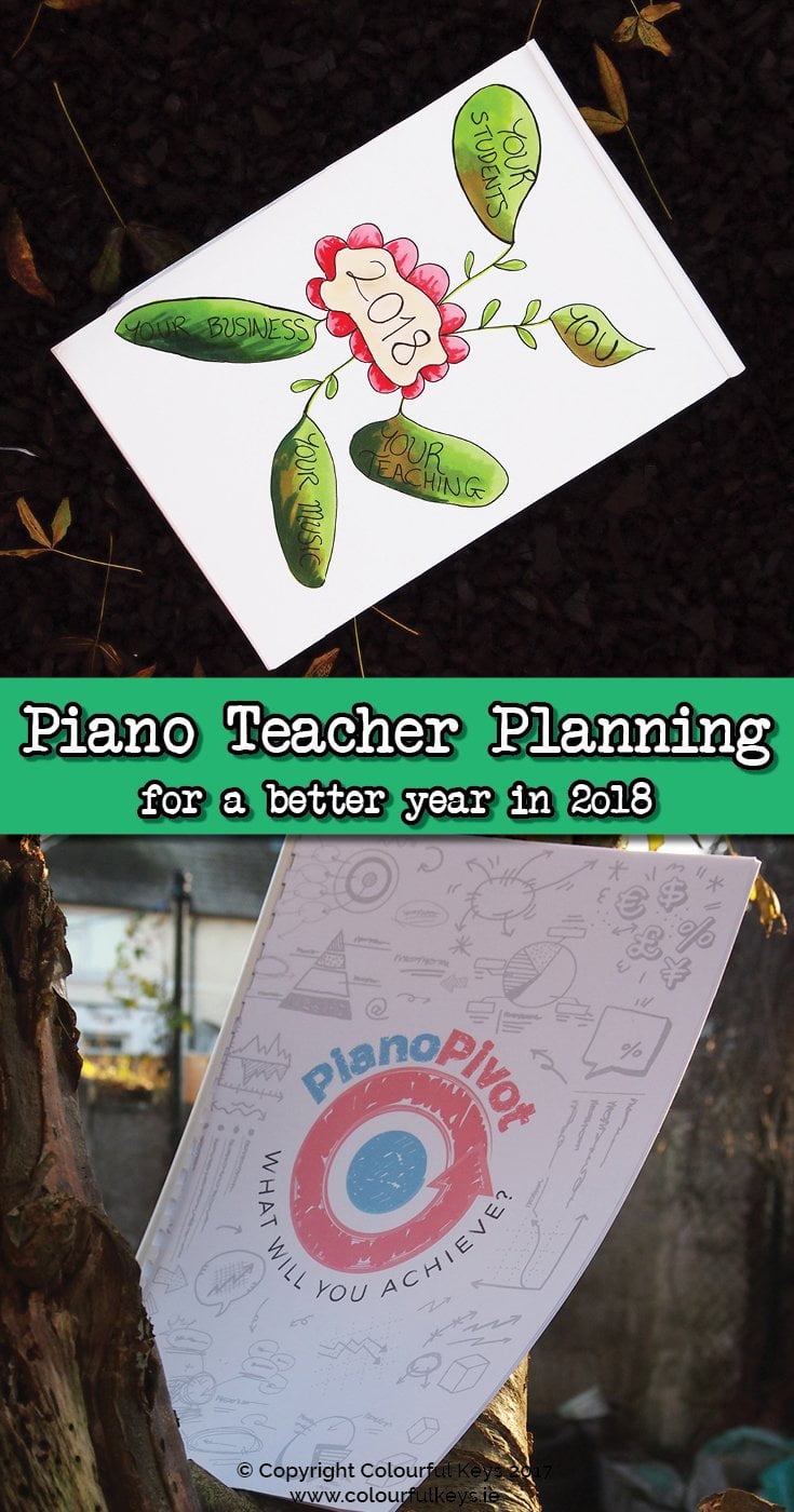 How to plan for a new year as a piano teacher