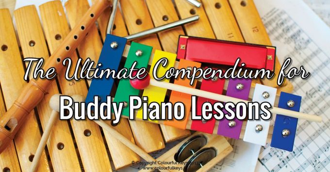 The Ultimate Compendium of Buddy Piano Lesson Activities