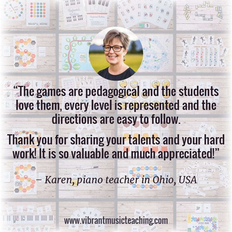 How to organise piano teaching resources - especially digital ones!