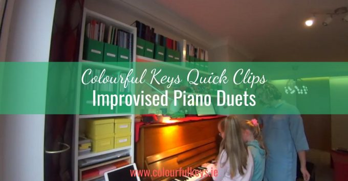 CKQC013- Improvising piano duets and exploring the keys
